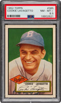 Baseball Cards:Singles (1950-1959), 1952 Topps Cookie Lavagetto #365 PSA NM-MT+ 8.5. ...
