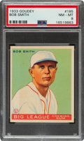 Baseball Cards:Singles (1930-1939), 1933 Goudey Bob Smith #185 PSA NM-MT 8 - Only Two Higher....