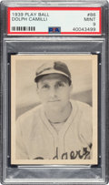 Baseball Cards:Singles (1930-1939), 1939 Play Ball Dolph Camilli (Title Case) #86 PSA Mint 9 - Pop One, None Higher! ...