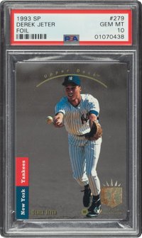 1993 SP Derek Jeter #279 PSA Gem Mint 10
