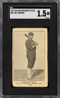 Baseball Cards:Singles (Pre-1930), 1917 E135 Collins-McCarthy Joe Jackson #82 SGC Fair 1.5....