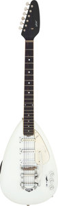 Musical Instruments:Electric Guitars, Circa 1968 Vox Mark VI White Solid Body Electric Guitar, Serial # 42615.. ...