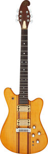 Musical Instruments:Electric Guitars, 1979 Martin E-18 Natural Solid Body Electric Guitar, Serial # 1609.. ...