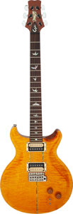 Musical Instruments:Electric Guitars, 1995 Paul Reed Smith (PRS) Santana Amber Solid Body Electric Guitar, Serial # 524581.. ...