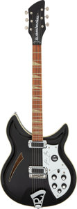 Musical Instruments:Electric Guitars, 1991 Rickenbacker John Kay Signature Jetglo Semi-Hollow Body Electric Guitar, Serial # I4 5443....