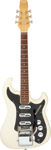 Musical Instruments:Electric Guitars, Circa 1968 Baldwin Jazz White Solid Body Electric Guitar, Serial # 21140....