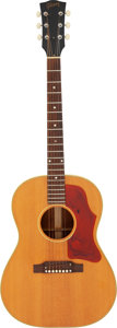 Musical Instruments:Acoustic Guitars, 1973 Gibson B-25 Natural Acoustic Guitar, Serial #098310.. ...