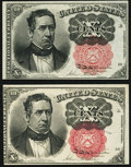 Fractional Currency:Fifth Issue, Fr. 1265 10¢ Fifth Issue Choice New;. Fr. 1266 10¢ Fifth Issue New.. ... (Total: 2 notes)