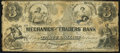 Obsoletes By State:New Hampshire, Portsmouth, NH- Mechanics' and Traders' Bank Spurious $3 Jan. 1, 1859 Very Good.. ...