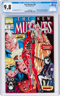 The New Mutants #98 (Marvel, 1991) CGC NM/MT 9.8 White pages