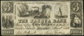 Obsoletes By State:New Hampshire, Nashua, NH- Nashua Bank Spurious $3 June 1, 1853 Fine-Very Fine.. ...
