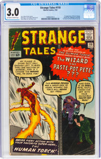 Strange Tales #110 (Marvel, 1963) CGC GD/VG 3.0 Off-white to white pages