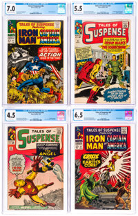 Tales of Suspense CGC-Graded Group of 6 (Marvel, 1964-67).... (Total: 6 )