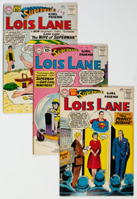 Superman Related Group of 6 (DC, 1960-61) Condition: Average VF.... (Total: 6 )