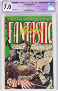 Golden Age (1938-1955):Horror, Fantastic Fears #5 (Farrell, 1954) CGC Apparent FN/VF 7.0 Slight (C-1)White pages....