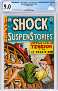 Golden Age (1938-1955):Horror, Shock SuspenStories #13 (EC, 1954) CGC VF/NM 9.0 Off-white to white pages....