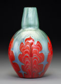 Glass, Loetz Titania Genre 6388 Glass Vase, circa 1909. 7-7/8 inches (20.0 cm). ...