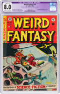 Golden Age (1938-1955):Science Fiction, Weird Fantasy #14 (EC, 1952) CGC Apparent VF 8.0 Slight (C-1) Cream to off-white pages....