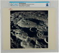 "Explorers:Space Exploration, Apollo 11: Original NASA ""Red Number"" Color Photo of Daedalus Crater, July 20, 1969, from the Command Module Directly From The..."