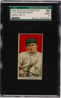 Baseball Cards:Singles (Pre-1930), 1919 T213 Coupon Cigarettes (Type 3) John McGraw (Portrait) SGC 50 VG/EX 4 - With Factory 8 Overprint....