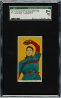 Baseball Cards:Singles (Pre-1930), 1919 T213 Coupon Cigarettes (Type 3) Dode Paskert SGC 84 NM 7 - Pop Two, None Higher....