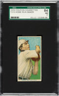 Baseball Cards:Singles (Pre-1930), 1919 T213 Coupon Cigarettes (Type 3) Home Run Baker SGC 84 NM 7 - Pop One, None Higher....