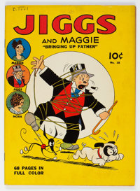 Four Color (Series One) #18 Jiggs and Maggie (Dell, 1941) Condition: VG+
