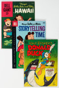 Golden Age (1938-1955):Cartoon Character, Donald Duck/Marge's Lulu and Alvin Storytelling Time Group of 5 (Dell, 1950-60).... (Total: 5 )