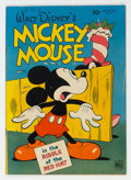 Golden Age (1938-1955):Cartoon Character, Four Color #79 Mickey Mouse (Dell, 1945) Condition: VG/FN....