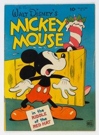 Four Color #79 Mickey Mouse (Dell, 1945) Condition: VG/FN