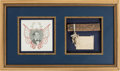 Political:Presidential Relics, Abraham Lincoln: Log Cabin Relic.. ...