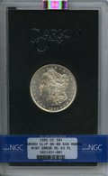 1882-CC $1 -- Curved Clip @6:00 -- GSA Hoard MS63 Prooflike NGC. NGC Census: (465/584). PCGS Population: (22/35). MS63...