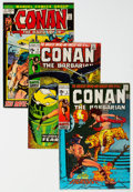 Bronze Age (1970-1979):Adventure, Conan the Barbarian Group of 9 (Marvel, 1971-73) Condition: Average FN/VF.... (Total: 9 Comic Books)