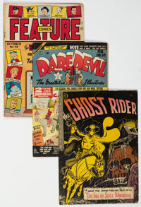 Golden and Silver Age Comics Group of 7 (Various Publishers, 1945-67).... (Total: 7 Comic Books)
