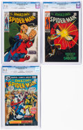 Silver Age (1956-1969):Superhero, The Amazing Spider-Man #69,72, and 156 CGC-Graded Group (Marvel, 1969-76).... (Total: 3 Comic Books)
