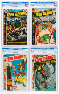 Teen Titans CGC-Graded Group of 5 (DC, 1968-72).... (Total: 5 Comic Books)