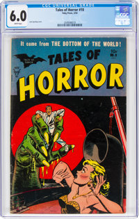 Tales of Horror #9 (Toby Publishing, 1954) CGC FN 6.0 White pages