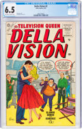 Golden Age (1938-1955):Humor, Della Vision #2 (Atlas, 1955) CGC FN+ 6.5 Off-white to white pages....
