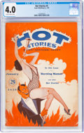 Magazines:Humor, Hot Stories #2 (Irwin Publishing Co., 1930) CGC VG 4.0 Slightly brittle pages....