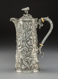 Silver & Vertu, An S. Kirk & Son Co. Silver Hot Milk Jug, Baltimore, Maryland, 1896-1925. Marks: S. KIRK & SON CO., 925/1000. 7-1/2 x 5 ...