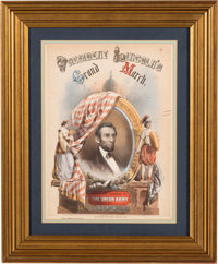 Abraham Lincoln: Pictorial Presidential Sheet Music