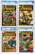 Bronze Age (1970-1979):Superhero, The Avengers CGC-Graded Group of 6 (Marvel, 1964-72).... (Total: 6 Comic Books)