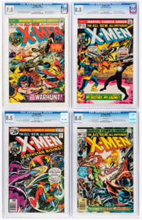 X-Men CGC-Graded Group of 7 (Marvel, 1971-90).... (Total: 7 Comic Books)