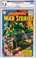 Golden Age (1938-1955):War, Star Spangled War Stories #31 River City Pedigree (DC, 1955) CGC VF- 7.5 Cream to off-white pages....