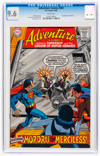 Adventure Comics #369 (DC, 1968) CGC NM+ 9.6 White pages
