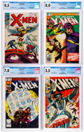Silver Age (1956-1969):Superhero, X-Men CGC-Graded Group of 5 (Marvel, 1967-81).... (Total: 5 )