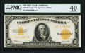Fr. 1173 $10 1922 Gold Certificate PMG Extremely Fine 40