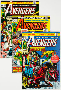 The Avengers Group of 39 (Marvel, 1974-78) Condition: Average NM-.... (Total: 39 Comic Books)