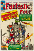Silver Age (1956-1969):Superhero, Fantastic Four #26 (Marvel, 1964) Condition: VG....
