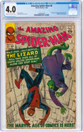 Silver Age (1956-1969):Superhero, The Amazing Spider-Man #6 (Marvel, 1963) CGC VG 4.0 Cream to off-white pages....